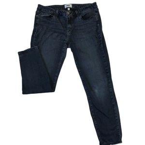 Paige Verdugo Ankle Jeans Dark Wash Size 32